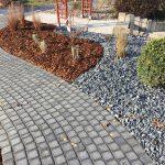 Heiby Wissembourg Haguenau Soultz sous forets - aménagements extérieurs pavage enrobé plantation paysagiste