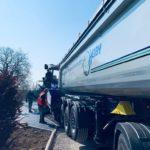 aménagement exterieur heiby alsace finisseur enrobé beton macadam nouveau camion soultz sous foret
