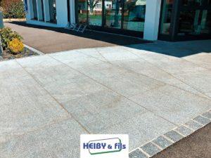 Heiby Wissembourg Haguenau Soultz sous forets - aménagements extérieurs pavage enrobé piscine plantation paysagiste escalier flottant seebach