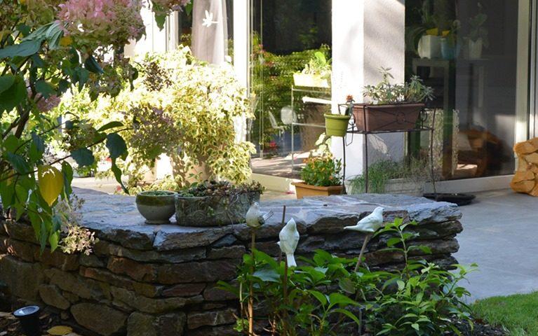 Heiby Wissembourg Haguenau Soultz sous forets - aménagements extérieurs pavage enrobé piscine plantation paysagiste escalier flottant ingwiller